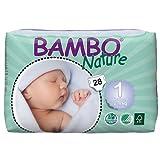 Bambo Newborn Nappies single bag (28 nappies)