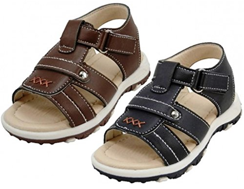 EasyPeasy Boys' Fisherman Sandals with Velcro Closure and Comfortable Footbed