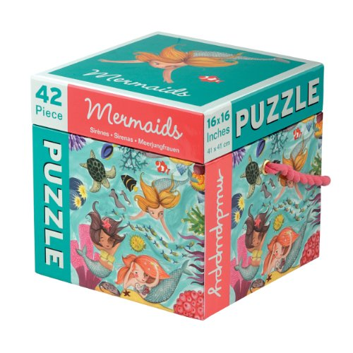Mudpuppy Mermaids 42 PC Puzzle