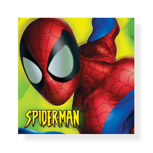 Spider-Man Beverage Napkins - 16 Count - 1