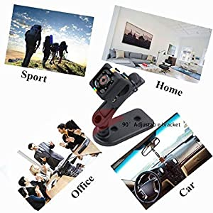 Hidden Camera Mini Spy Camera, TOPCAMS 1080P Portable Camera Home Wireless Spy Cam with Motion Tracking Night Version