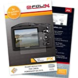 AtFoliX FX-Antireflex screen-protector for Canon PowerShot SX130 IS (3 pack) - Anti-reflective screen protection!