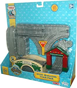 Thomas and Friends The Great Discovery Take Along Accessory Set - Great Waterton Track Pack (16 Tracks, 1 Bridge, 1 Gate and 2 Signs)