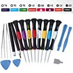 16-piece Screwdriver Set Repair Tool...