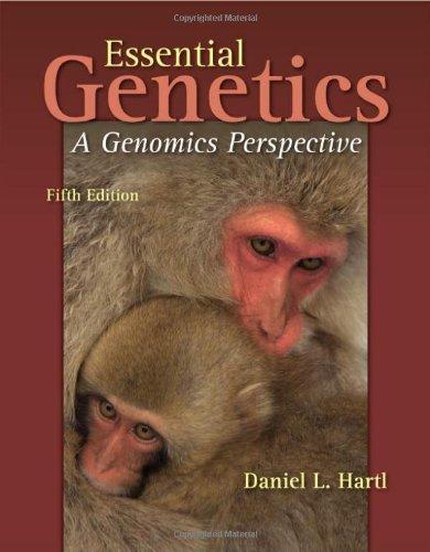 Essential Genetics: A Genomics Perspective (Jones and...