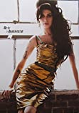 Amy Winehouse gold dress POSTER 14.5 x 21 higher qual (sent FROM USA in PVC pipe)