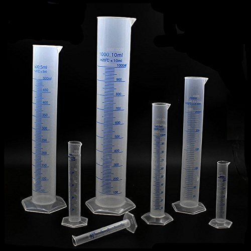 Experiments Instruments Measurement: Kalevel 50ml Graduated Cylinder Liquid Measuring Graduated