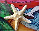 Hand Made Starfish Barrette by Saltwater Surf Art Gallery