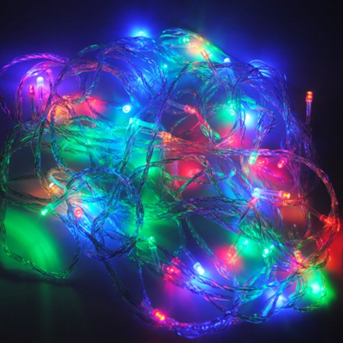 Cvlife Color 100M 480 Led Fairy String Lights Wedding Christmas Party Holiday Tree Light Lighting