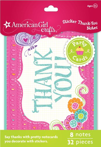 Great Features Of American Girl Crafts Thank-You Notes