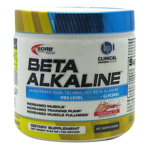 Supplément BPI Sport Beta alcaline à base de