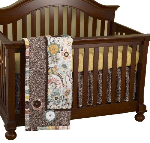 Cotton Tale Designs 3 Piece Crib Set, Penny Lane
