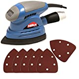 Hilka Mouse Style Electric Plam Sander PLUS Free Pack of Sanding