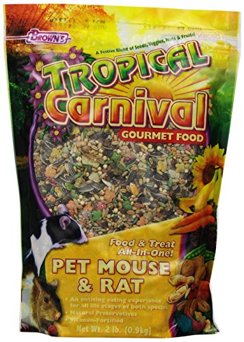 Artikelbild: F.M. Brown's Tropical Carnival Mouse and Rat Food, 2-Pound by Fm Browns (English Manual)