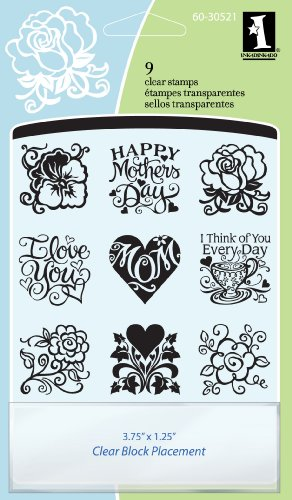 Inkadinkado Mother's Day Inchie Bundle Clear Stamps