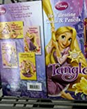 VALENTINES DISNEYS TANGLED 16 VALENTINE CARDS AND 16 #2 PENCILS