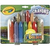 Crayola 15ct Wild Safari Sidewalk Crayons