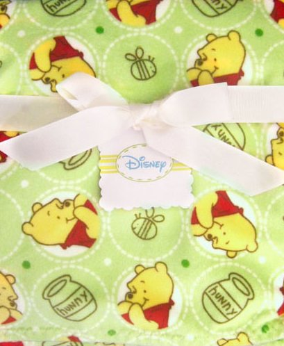 Best Disney 2 Ply Superboa Crib Throw Sage Pooh guides