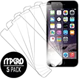 "Empire iPhone 6 Screen Protector Cover, Ultra-Clear 5-Pack Case (iPhone 6 4.7"" only) - Mpero"