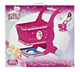 Disney Princess Royal Shopping Cart with 11 Pieces of Play Food