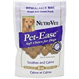 Nutri-Vet Pet-Ease Soft Chews for Canines 6 Ounce