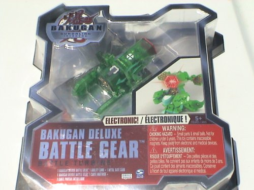 Bakugan Deluxe Battle Gear Battle Turbine Season 3 (Color Varies Between Gold And Silver) - 1