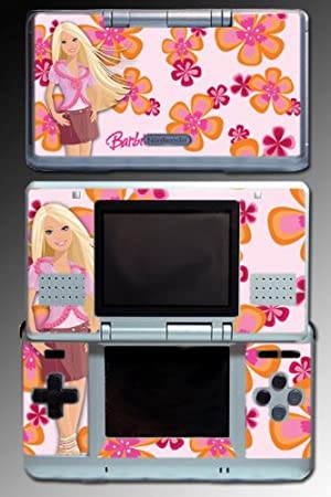 Barbie Princess 70s Doll Flowers Video Game Vinyl Decal Cover Skin Protector #6 for Nintendo DS