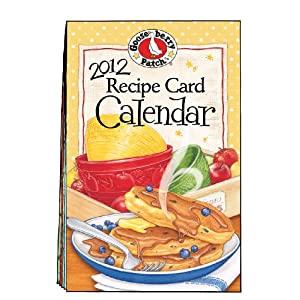 2012 Gooseberry Patch Recipe Card Calendar (Gooseberry Patch Calendars)
