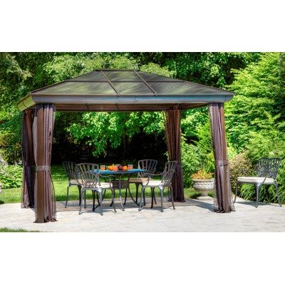 Four Season Gazebo Size: 10' W x 14' D