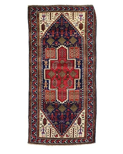 Bashian Belouj Hand-Knotted Rug, Dark Blue, 2' 10 x 6' 3