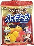 【まとめ買い】ハイチュウアソートキャンディ お取りよせ 長十郎梨 河内晩柑 山ぶどう あかつき桃×4セット