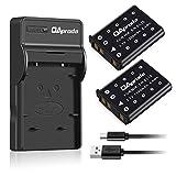 OAproda 2 pack EN-EL10 Battery and