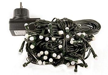 Trafo NEU LED Garten Party Lichterkette 50 bunte LED 7,35m für außen IP44 inkl