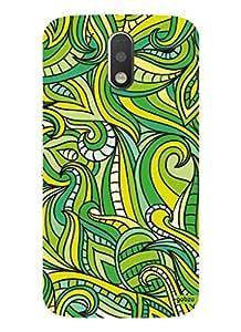 Gobzu Printed Designer Hard Case Back Cover for Moto G 4th Gen / Moto G Plus 4th Gen / Moto G4 - Abstract Pattern-2