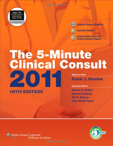 The 5-Minute Clinical Consult 2011 (Print, Website, And Mobile) (The 5-Minute Consult Series) front-1028797
