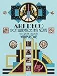 Art Deco Spot Illustrations and Motif...