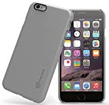 iPhone 6s Case : Stalion® {Sleek Series} Ultra Slim Protective Hard Case for Apple iPhone 6/6s (Quick Silver)[Lifetime Warranty] Smooth Coated Anti-Slip Rubbery Matte Grip Texture