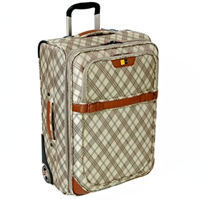 GAG Hetherington Large 26'' Expandable Suitcase (Check)