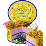 Art of Appreciation Gift Baskets   Happy Birthday Cake Shaped Box