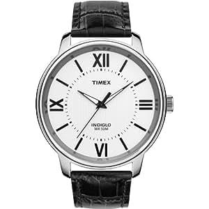 Timex - T2N691PF - Montre Homme - Quartz Analogique - Bracelet Cuir Noir