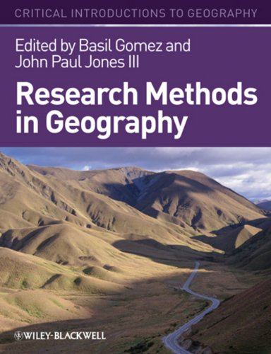 Research Methods in Geography A Critical Introduction Critical Introductions to Geography