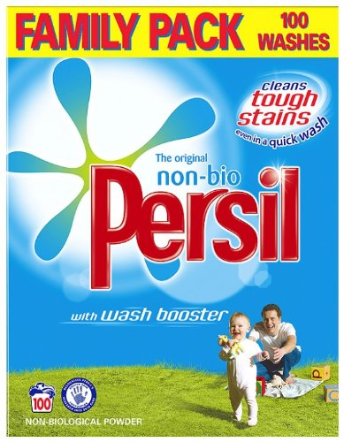 Persil Non-biological Powder Detergent (8.5 kg, 100 Washes)