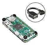 Raspberry Pi Zero ケース,【IVSO】[Raspberry Pi Zero ケース,Raspberry Pi Zero 高品質アクリルケース  (USB-OTGケーブル付き)]