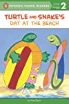 Turtle and Snake's Day at the Beach (Easy-to-Read, Puffin)