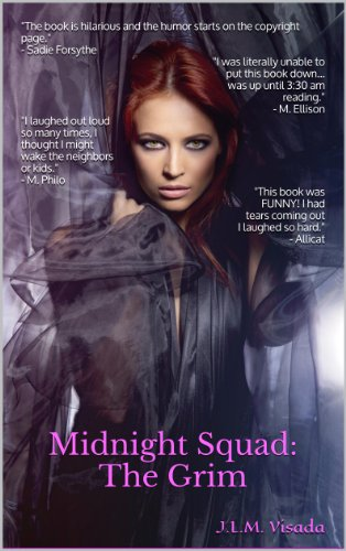 Book: Midnight Squad - The Grim by J.L.M. Visada