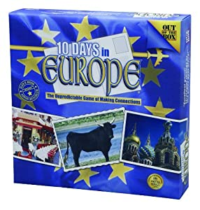 10 Days In Europe Game