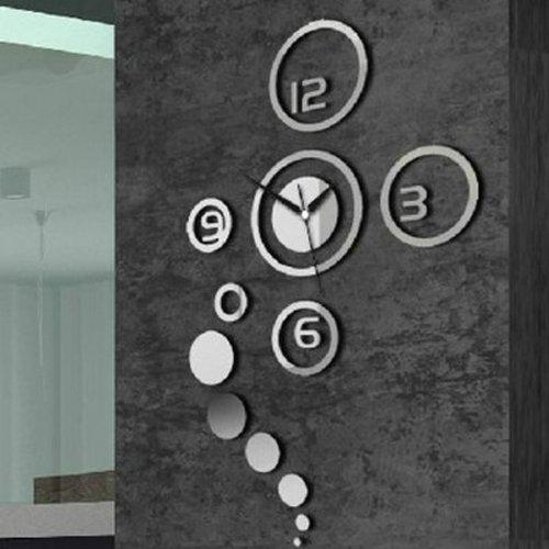 2 horloge murale diy 3d digital moderne design d coratif d coration mural love lettre. Black Bedroom Furniture Sets. Home Design Ideas