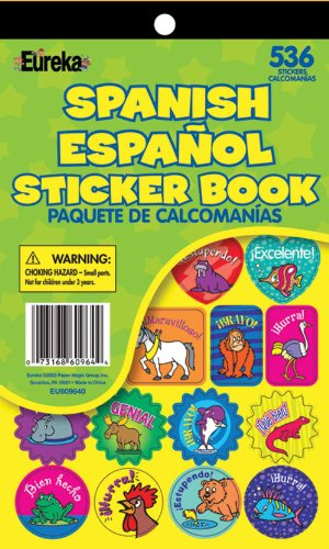 Eureka Spanish Sticker Book - 1