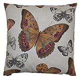 Van Ness Studio Madame Butterfly Decorative Throw Pillow, Sunset