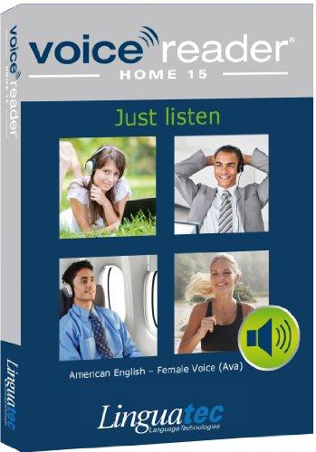 Voice Reader Home 15 Englisch-Amerikanisch – weibliche Stimme (Ava) [import allemand]